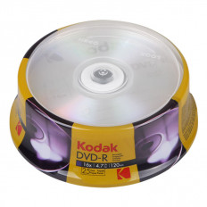 DVD-R 4.7GB 16x KODAK (25 ΤΕΜ)